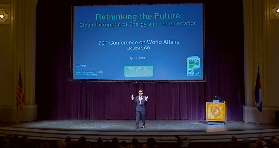Clean Disruption of Energy and Transportation - CWA - Boulder, April 9, 2018